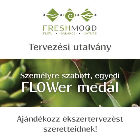 Ékszertervezési utalvány - FLOWer medál
